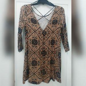 Like new flowy boho slip dress